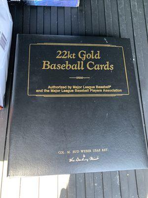 22kt Gold baseball card for Sale in Oceanside, CA
