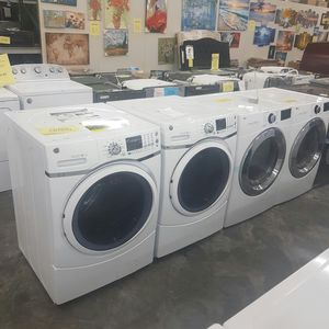 LG Silver Steam Front Load Washer Dryer for Sale in Hacienda Heights, CA