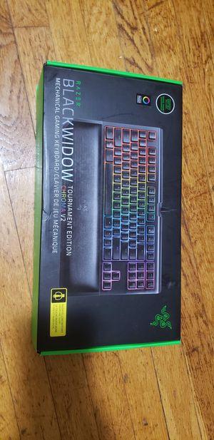 Razer Blackwidow TE CHROMA V2 mechanical Keyboard for Sale in Wellesley, MA