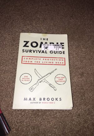 The zombie survival guide for Sale in Lakeland, FL