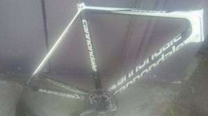 Cannondale supersix carbon fiber frame for Sale in Riverside, CA