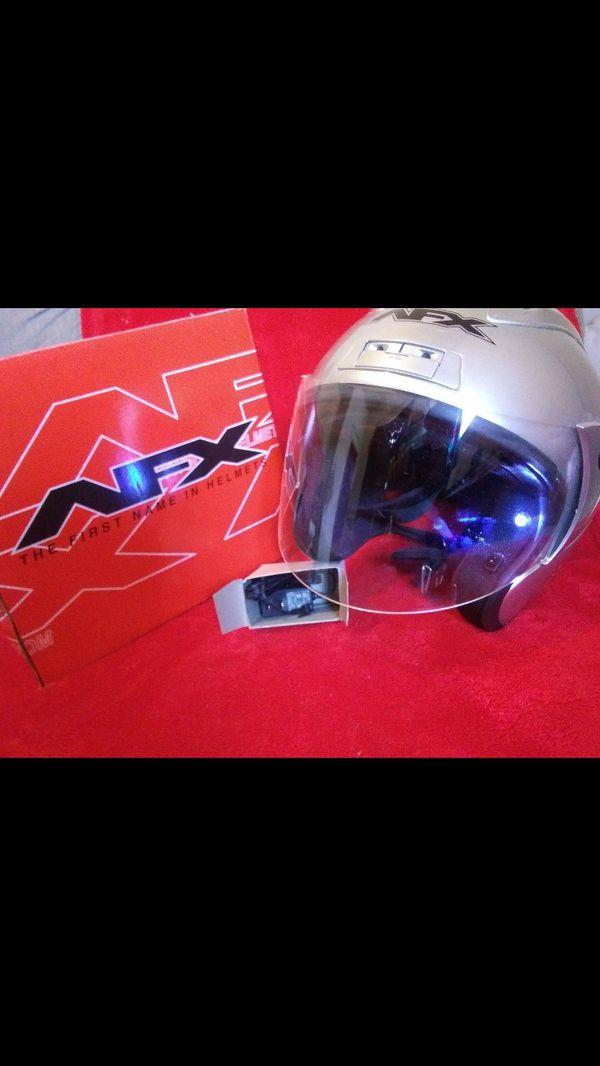 Two motorcycle helmets Hutchinson ks