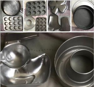 Baking cupcake cake pans lot for Sale in San Marcos, CA