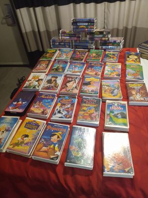 Collection of 50 Walt Disney VHS Movies for Sale in Mesa, AZ