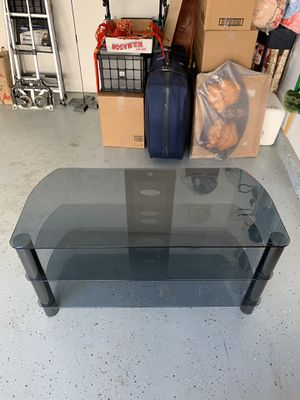 Three shelf tv stand for Sale in Gaithersburg, MD