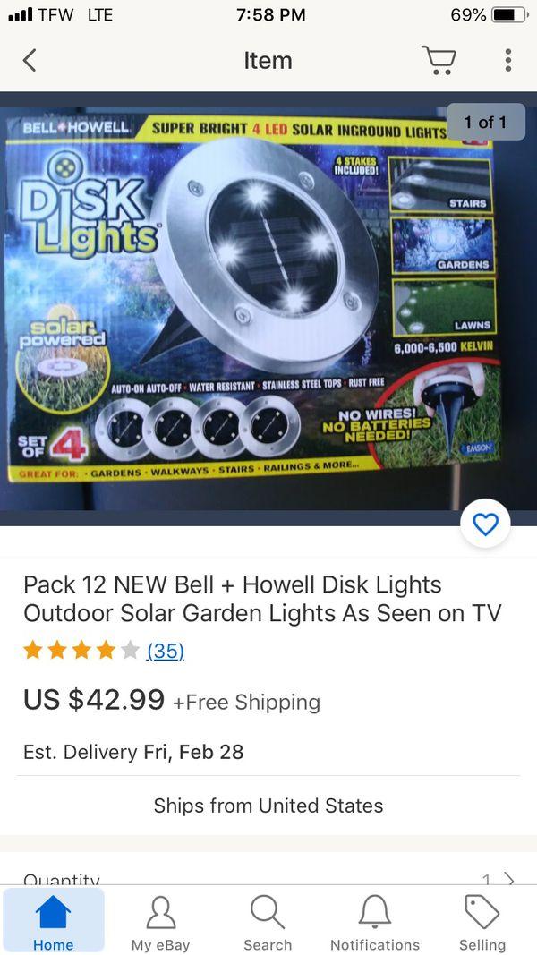 Solar light new never used