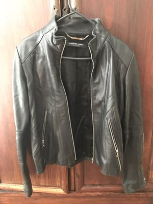 Beautiful Andrew Marc Women's Leather Jacket for Sale in Austin, TX