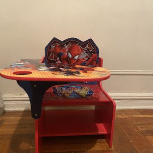 Spider-Man Chair-Desk for toddlers for Sale in The Bronx, NY