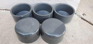 4 INCH Schedule 80 PVC CAPS for Sale in Phoenix, AZ