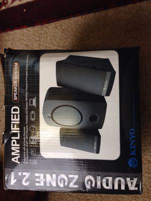 KINYO Audio Zone 2.1 Speaker System for Sale in Dearborn, MI
