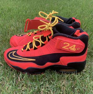 Nike Air Griffey Max 1 Crimson Atomic Mango Rare Colorway Men's Sneakers Shoes Size 10 for Sale in Laurel, MD