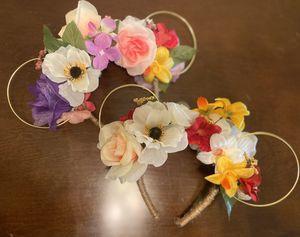 Custom Disney ear flower headbands for Sale in Chula Vista, CA