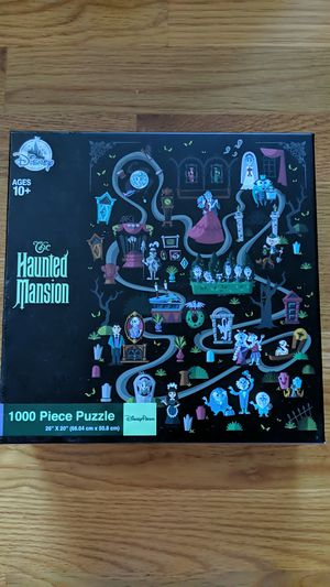 Disney haunted mansion puzzle for Sale in San Francisco, CA