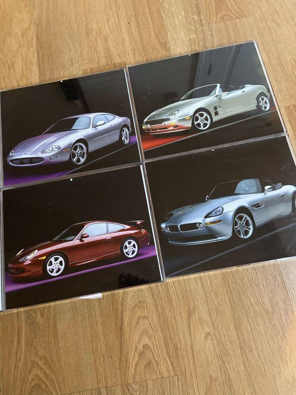 Car Photos in Acrylic Frames