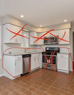 Brand new kitchen cabinets for Sale in Marlboro Township, NJ