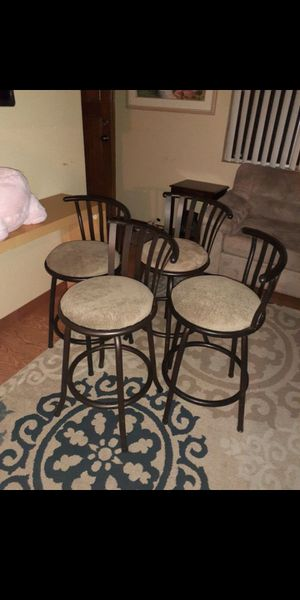 4 barstool like new. for Sale in Kent, WA