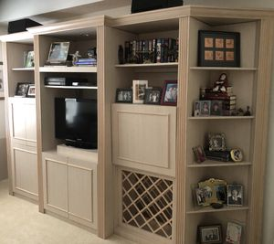 Custom wall unit free to good home for Sale in Pompano Beach, FL