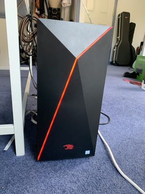 iBUYPOWER - Desktop - Intel Core i7 - 16GB Memory - NVIDIA GeForce GTX 1060 - 120GB Solid State Drive + 1TB Hard Drive - Black/red for Sale in Neffsville, PA