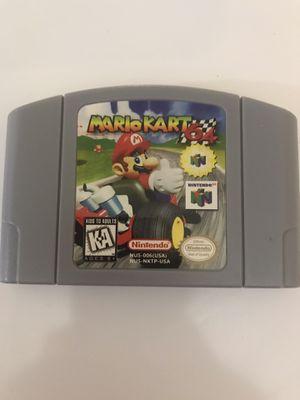 Mario Kart Nintendo 64 for Sale in Opa-locka, FL
