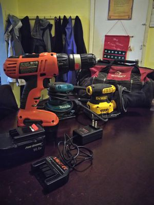 DeWalt Makita Black & Decker Husky for Sale in Philadelphia, PA