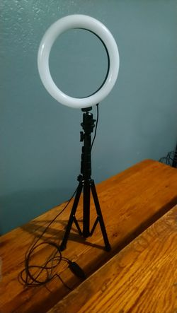 Ring Light with Tripod for Sale in Sacramento,  CA