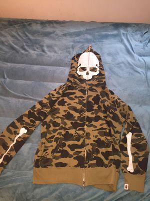 A Bathing Ape & mastermind Japan MMG Bape camo monkey hoodie size L for Sale in Philadelphia, PA