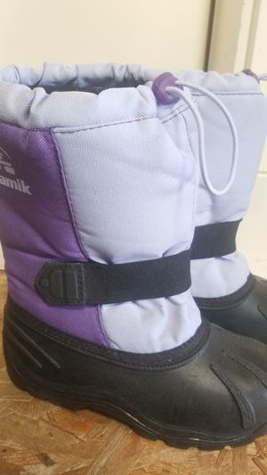 Kamik snow boots Size 1 for Sale in Kent, WA