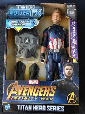 """Marvel Captain America Titan Hero Power FX Avengers Infinity War 12"""" figure for Sale in New York, NY"""