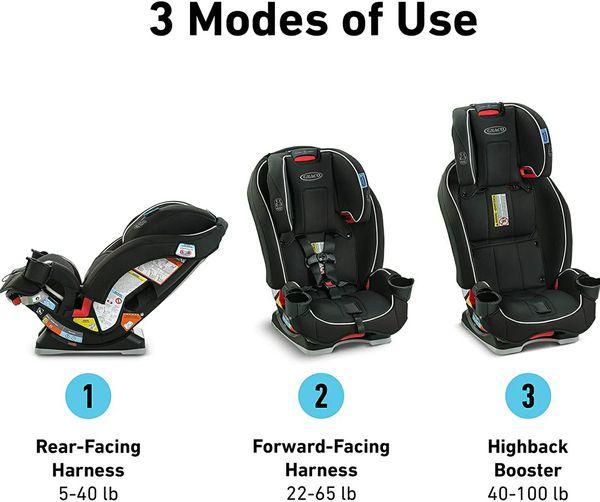 Graco Slimfit 3-in-1 Convertible Car Seat - Darcie