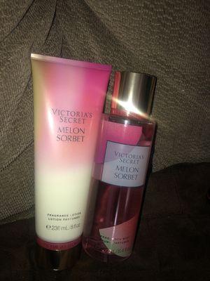 New Victoria secret Melon Sorbet $20 each set New smell Pick up 75216 ( recojer solamente) for Sale in Dallas, TX