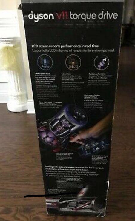 New Dyson - V11 Torque Drive Cord-Free Vacuum - Blue/Nickel. NIB/FACTORY SEALED