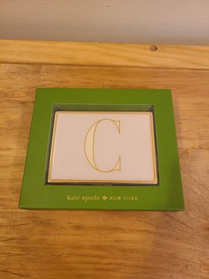 "Monogrammed ""C"" ID Holder Kate Spade for Sale in Fairfax, VA"