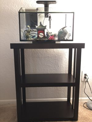 8.75 Gallon Aquarium & Stand for Sale in Clearwater, FL