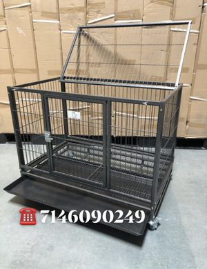 Dog pet cage kennel size 37 medium new in box 📦 for Sale in Pomona, CA