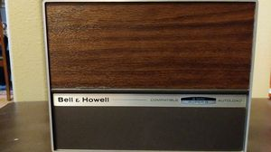 Vintage Bell & Howell Autoload 8 mm and Super 8 Portable Movie Projector for Sale in Canton, SD