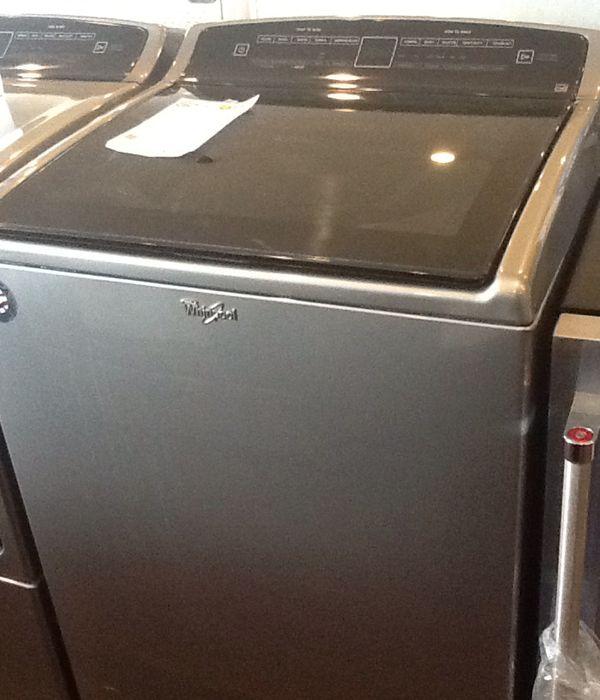 New open box whirlpool washer WTW7500GC