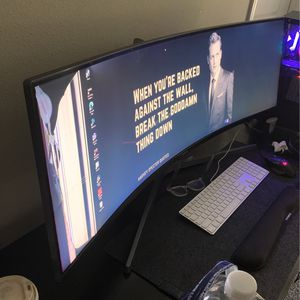 "49"" Samsung Ultrawide Curved Monitor for Sale in CA, US"