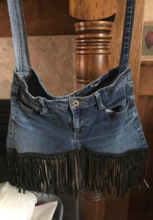 Recycled jean bags for Sale in Mocksville, NC
