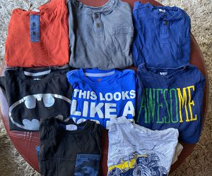 Boys size 5/6 (8 Shirts) for Sale in San Jose, CA