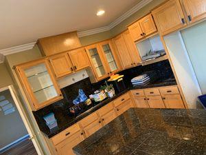 Oak kitchen cabinets for Sale in Corona, CA