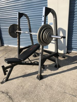 Home gym Weight set rack for Sale in Oviedo, FL