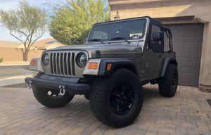 2004 Jeep Wrangler for Sale in Sun City, AZ