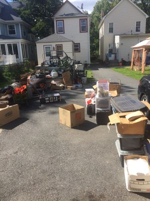 An Estate Sale...music, furniture, books, office appliances, kitchen appliances, garden tools, drills, tools, tiles, molding and much more. Great pri for Sale in East Orange, NJ