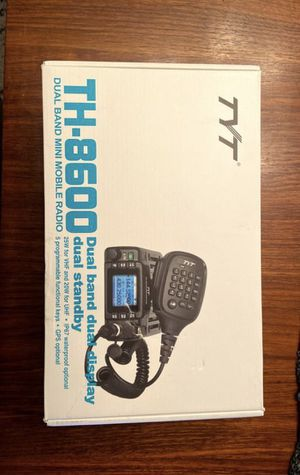 TYT TH8600 2M/70CM 25 WATT SMALL MOBILE W/PROGRAMMING CABLE for Sale in Las Vegas, NV
