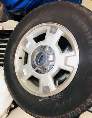 Original Ford F-150 rims set with tires and lights for sale! for Sale in South San Francisco, CA