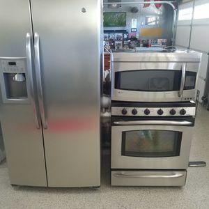 Refridgerator, Double oven & Microwave for Sale in Rancho Santa Margarita, CA