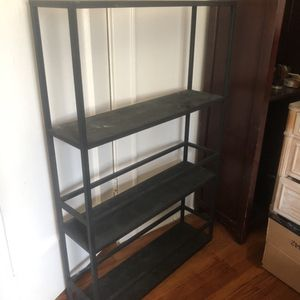 Wall Mounted Black Metal Shelving unit for Sale in Englewood Cliffs, NJ