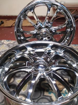4 Big Boys Boss Chrome Wheels 22's for Sale in Portland, OR