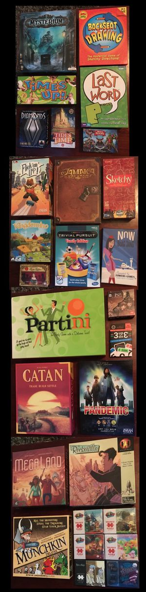 Board Games for Sale (new & used) for Sale in Maricopa, AZ
