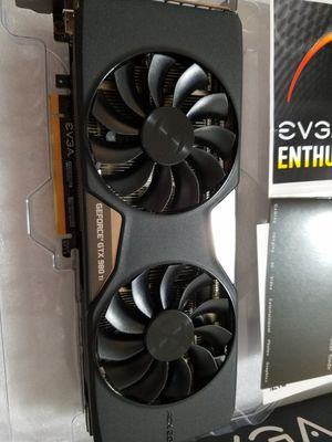 EVGA GEFORCE 980TI SC Graphics card 6gb for Sale in Renton, WA